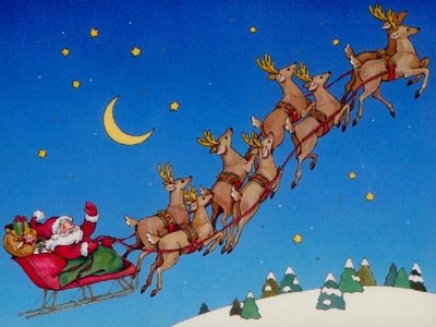 Image result for santa's reindeer